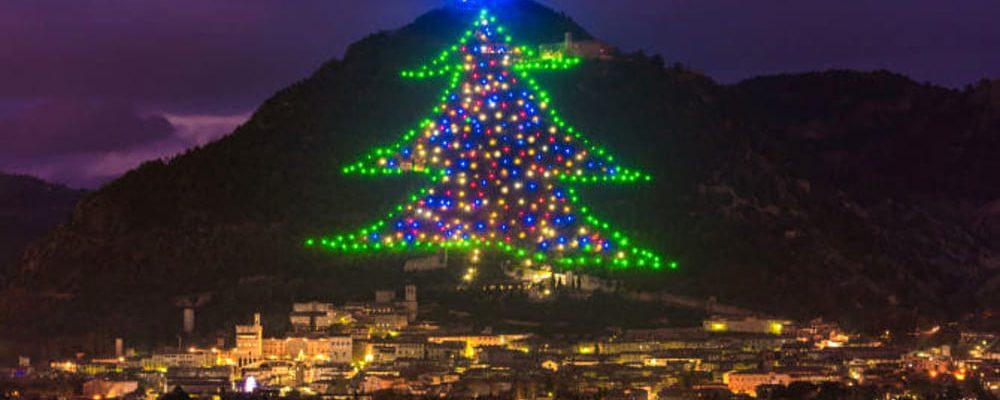 Albero di Natale più grande del mondo è a Gubbio!