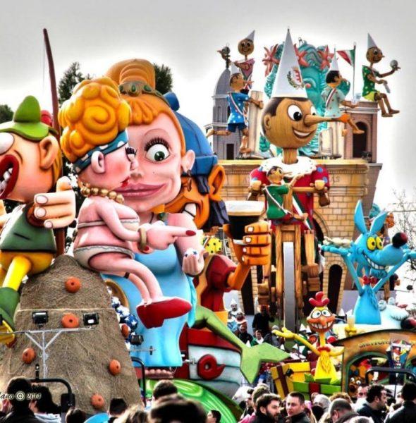 Il Carnevale di Fano (PU) – 17, 24 febbraio e 3 marzo