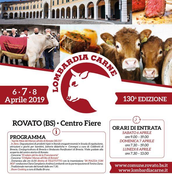 Lombardia Carne Rovato (BS) – La storica fiera, vetrina della Franciacorta