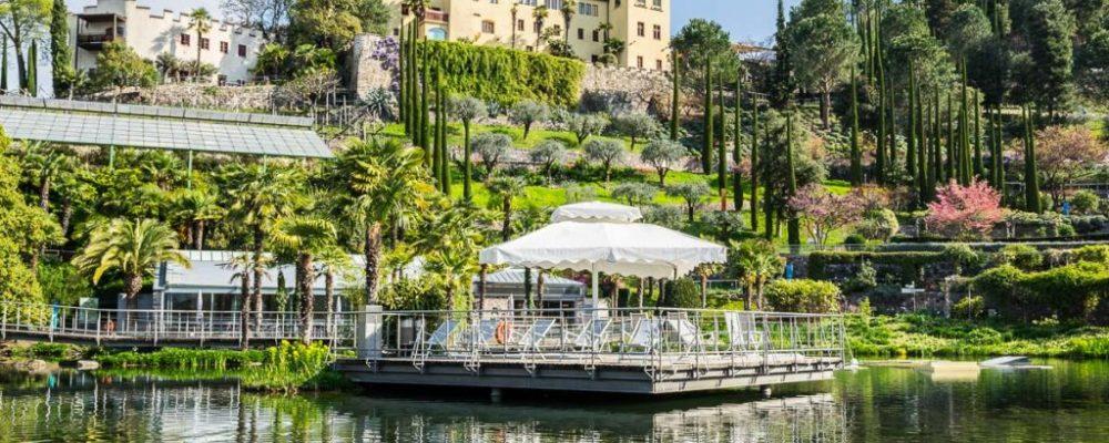 I giardini botanici di Merano, dove si ammirano piante da tutto il mondo