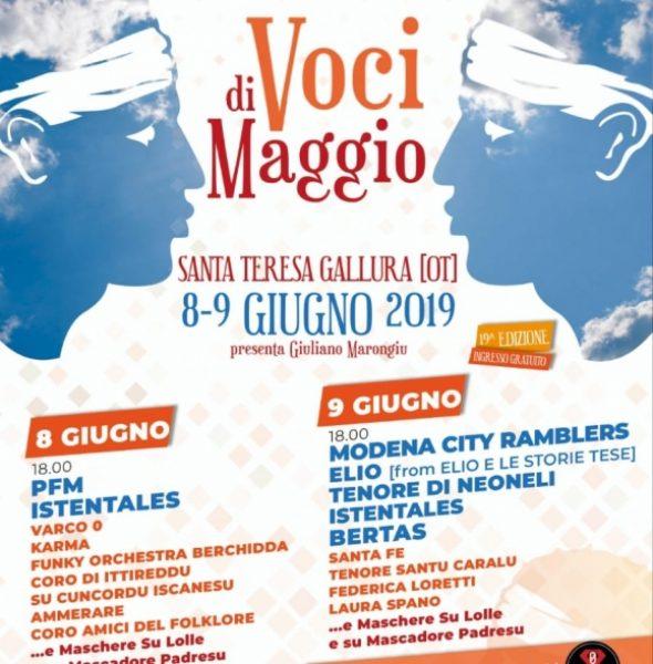 Voci di Maggio tra musica e tradizione a Santa Teresa di Gallura