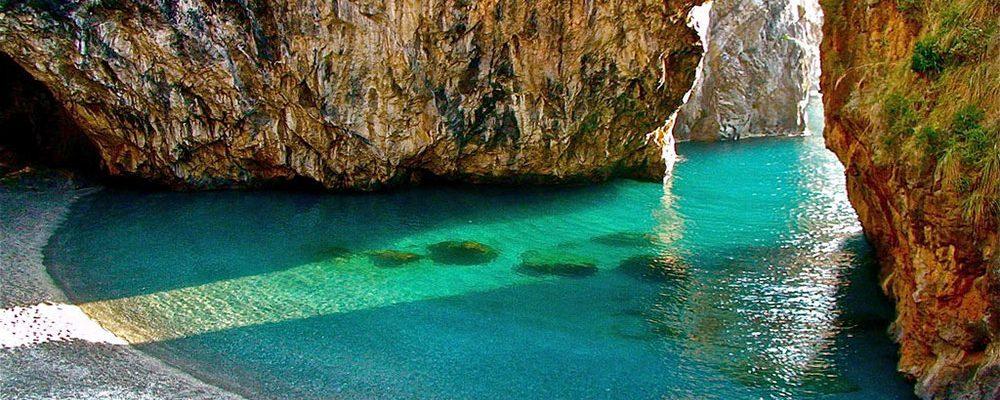 Spiaggia di Arcomagno a San Nicola Arcella