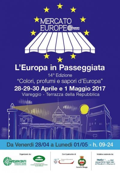 viareggio mercato europeo maggio 2017